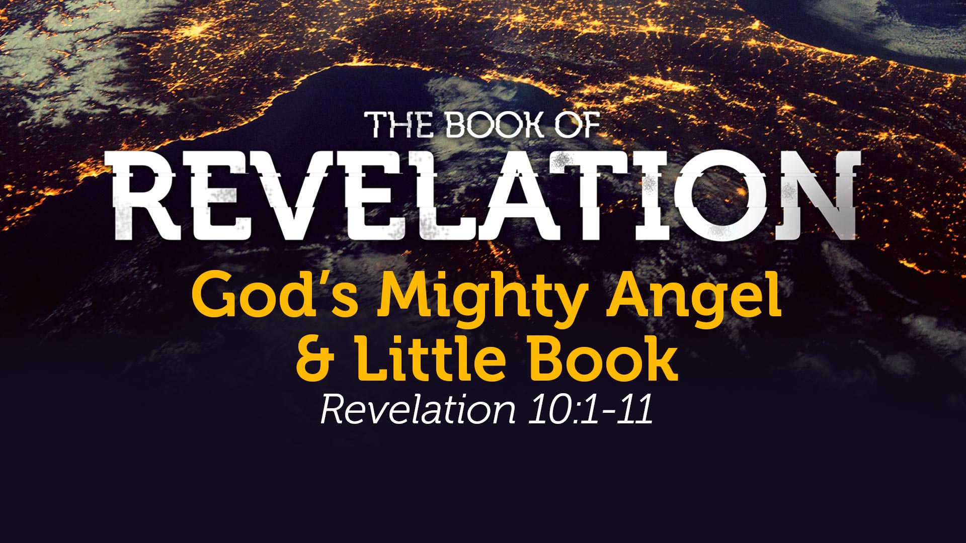 God's Mighty Angel & Little Book